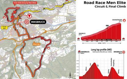 Mondiali 2018, a Innsbruck prova per scalatori