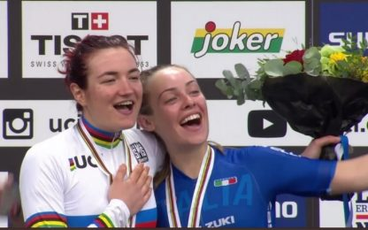 Mondiali ciclismo juniores, Pirrone, bis d'oro