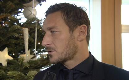 """Totti: """"Per quello che c'era è andata bene..."""""""