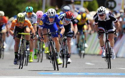 Tour Down Under: Viviani c'è, Sagan a secco