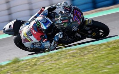 Alex Marquez, colpo di coda a Jerez de la Frontera