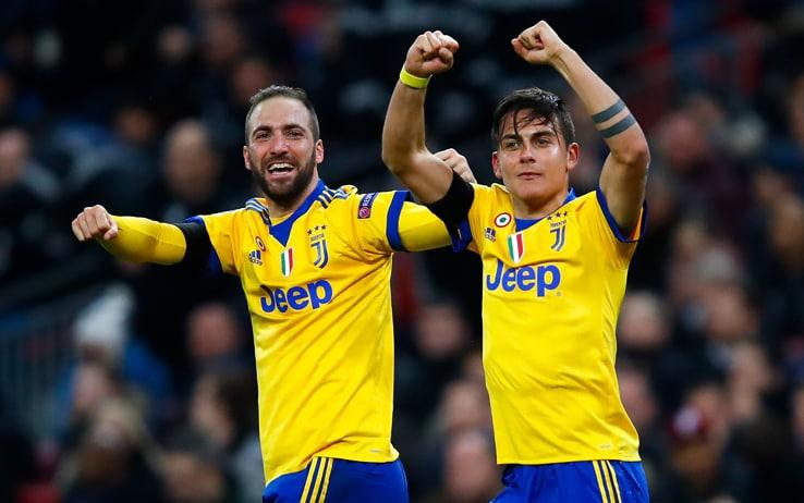 Champions League, Tottenham-Juventus 1-2. I gol di Higuain e Dybala  ribaltano gli Spurs. Bianconeri ai quarti | Sky Sport