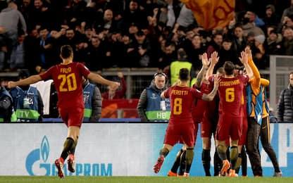 Decide Dzeko: Roma ai quarti, Shakhtar ko 1-0