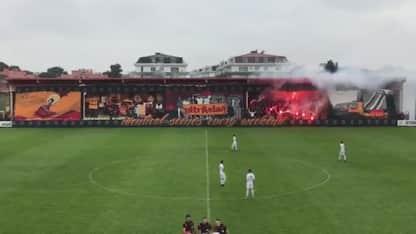Galatasaray, coreografia da Champions per l'U19