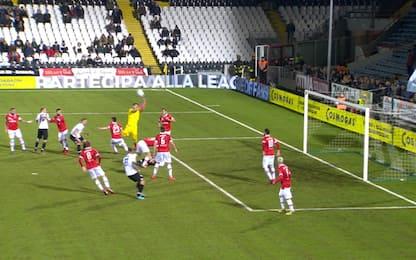 Buonaiuto risponde a Schiavone: Cesena-Perugia 1-1