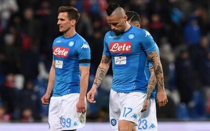 Frenata Napoli, con il Sassuolo è solo 1-1