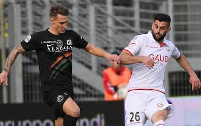 Carpi-Venezia con poche emozioni: è 0-0