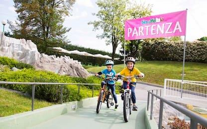 Minitalia, a Leolandia il giro per baby ciclisti