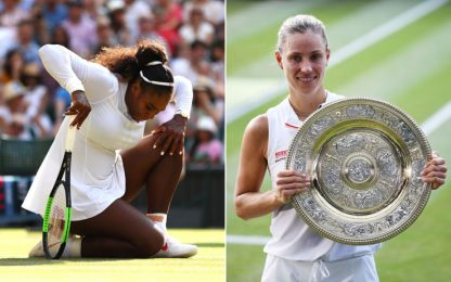 Wimbledon: Serena ko in finale, trionfo Kerber