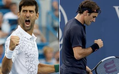 Cincinnati: finale da sogno Djokovic-Federer