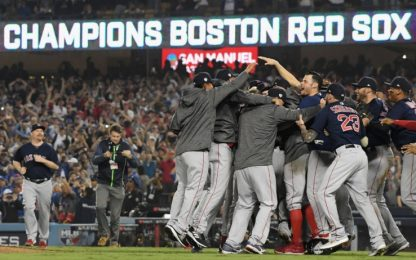 MLB, World Series: Boston campione. Dodgers ko 5-1