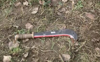 Sul luogo degli incidenti: le armi usate
