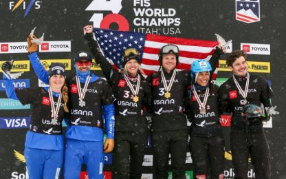 Mondiali Snowboard, argento per Visintin-Moioli