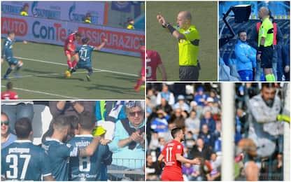 Spal-Fiorentina, Var dà rigore e annulla gol