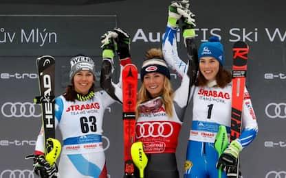 Slalom Spindleruv, Shiffrin: 15^ vittoria e record