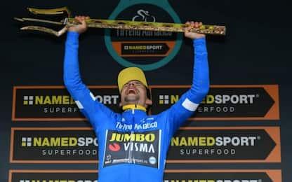 Roglic vince la Tirreno, Yates è 2° a 31 centesimi