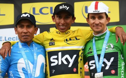 Bernal conquista la Parigi-Nizza: battuto Quintana