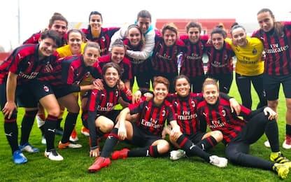 Serie A donne, Milan ritrova 3 punti: Florentia ko