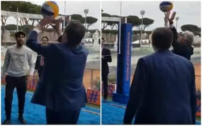 Beach, Mondiali '21 a Roma. E Malagò gioca al Foro