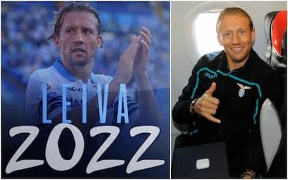 """Leiva rinnova fino al 2022: """"Tutto per la Lazio"""""""