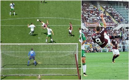 Déjà-vu Gallo: altro gol in rovesciata al Sassuolo