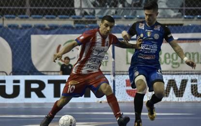 Acqua&Sapone-Pesaro, si assegna titolo calcio a 5