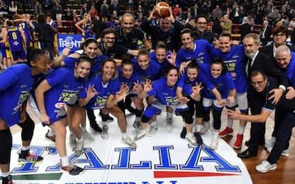 Italbasket donne, al via il raduno per l'Europeo
