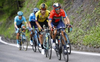 """Nibali: """"Bene Roglic, finalmente ha collaborato"""""""