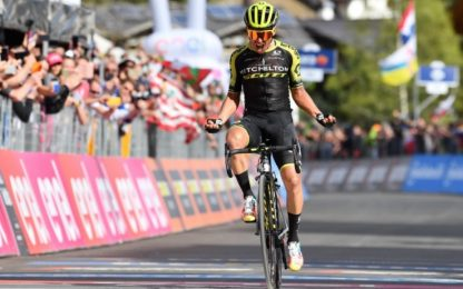 Giro, Chaves vince 19^ tappa. Carapaz in rosa