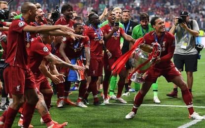 Sesta coppa per i Reds, Real e Milan ancora avanti