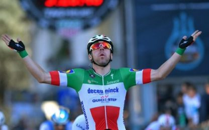 Giro Svizzera, Viviani vince 4^ tappa in volata