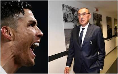 Juve, come giocherà Cristiano Ronaldo con Sarri