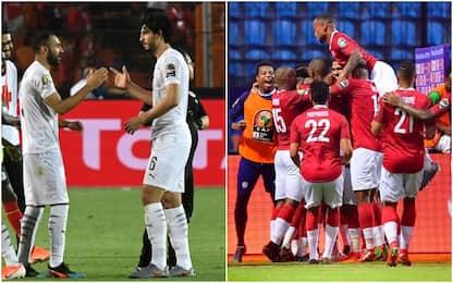 L'Egitto vince il gruppo A, Madagascar 1° nel B