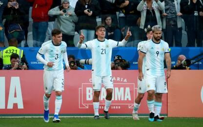 Aguero-Dybala, Cile ko 2-1: Argentina al 3° posto