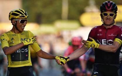 Bernal vince il Tour, Ewan conquista volata Parigi
