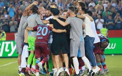 Trabzonspor, curiosa danza dopo la vittoria. VIDEO