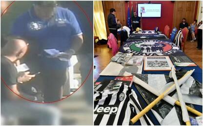 Arrestati 12 ultrà Juve dopo la denuncia del club