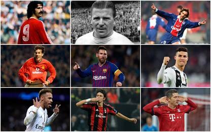 Classifica per media gol in Champions: CR7 solo 6°