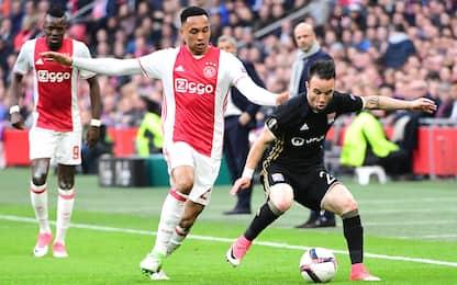 Inter, ritiro dalla corsa per Tete dell'Ajax
