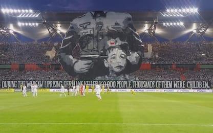 Varsavia, coreografia-shock per vittime nazismo