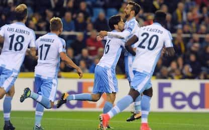 Lazio, buona la prima: 3-2 in rimonta a Vitesse