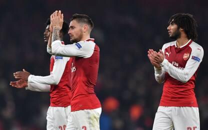 Arsenal e Zenit ai sedicesimi: tutti i risultati