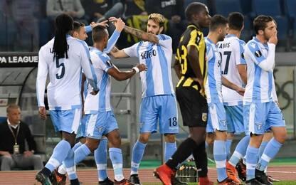 L. Alberto risponde a Linssen, Lazio-Vitesse 1-1