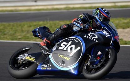 Bagnaia subito leader a Jerez