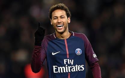 Neymar, un milione dalla Nike per il Pallone d'Oro