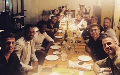 La Juve fa gruppo, tutti a cena: paga Pjanic