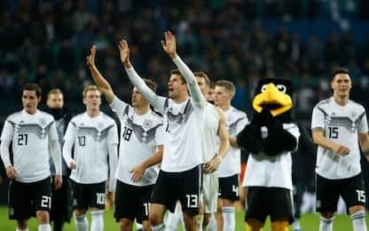 Germania, tris in amichevole contro la Russia