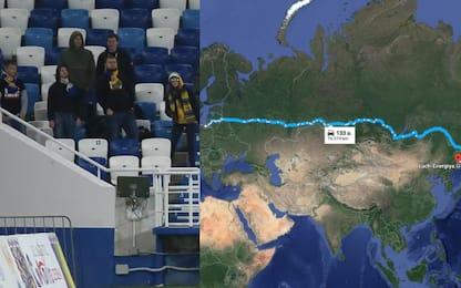 Russia, che trasferta! 6 tifosi si fanno 7 mila km