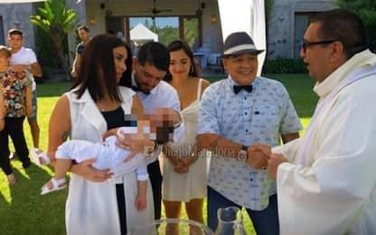 Maradona padrino, 'battezza' il nipote Dieguito