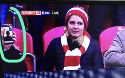 Bundes, FaceTime di un tifoso in Mainz-Norimberga